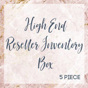5 Piece High End Reseller Inventory Box